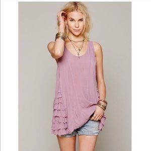 Intimately Free People • lilac ruffled up trapeze